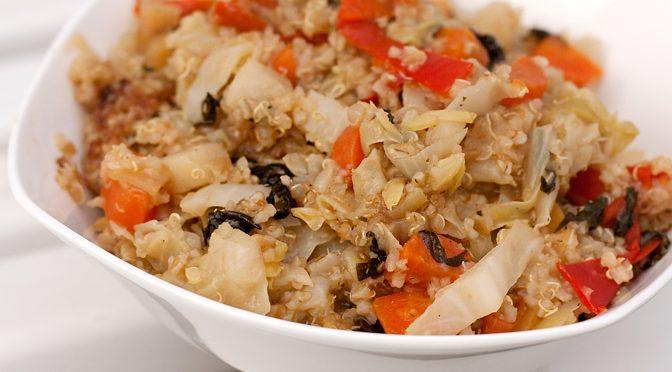 Quinoa mit Wintergemüse
