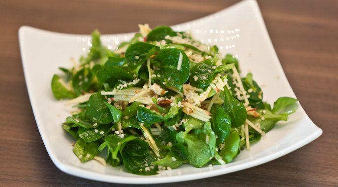 Feldsalat zubereiten | Gartengemüsekiosk