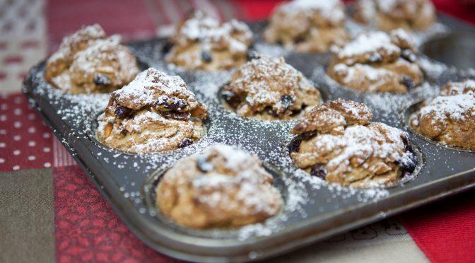 Stollen-Muffins-Rezept