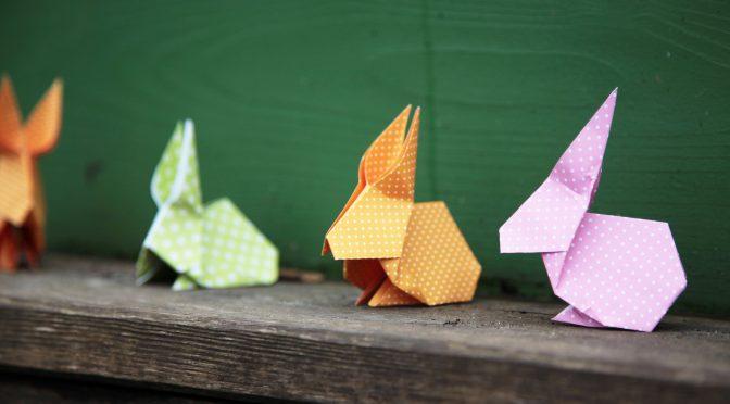 Osterhase falzen | Origami