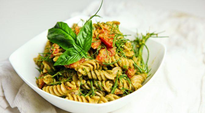 Basilikumpesto, veganes Rezept