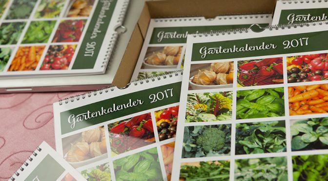Gartenkalender Aussaat 2017 | Unser Shop
