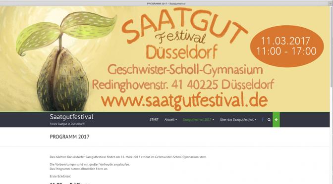 Saatgutfestival 2017