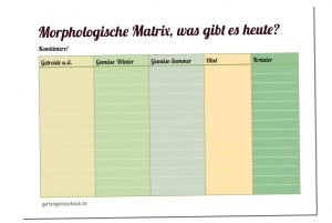 Morphologische Matrix