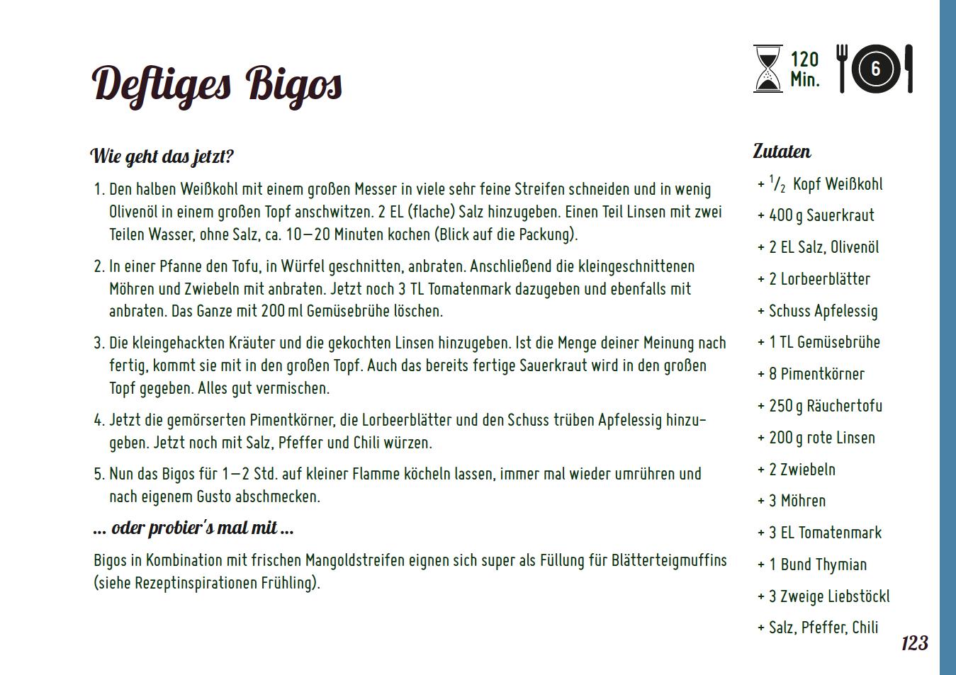 Bigos Rezept