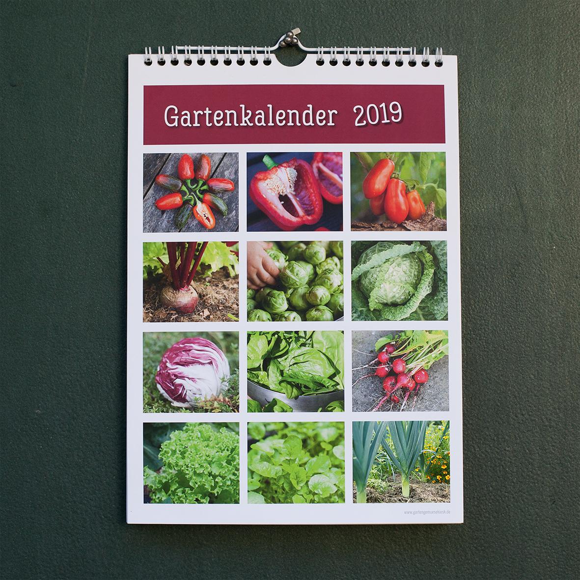 Garten Kalender Mit Samentütchen 2019 Selbstversorgung Im