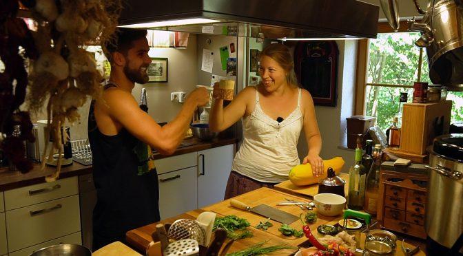 Kochen mit Max in der Rigottiküche
