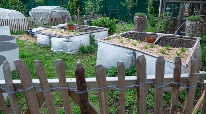 Gartenrundgang Mai