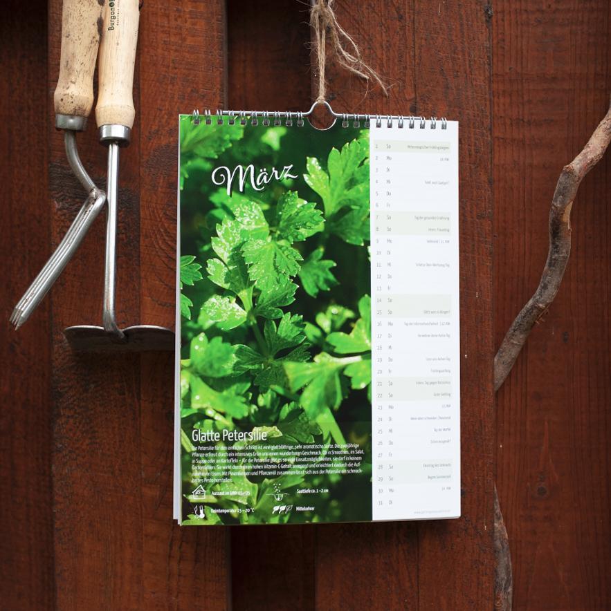 Biogartenkalender