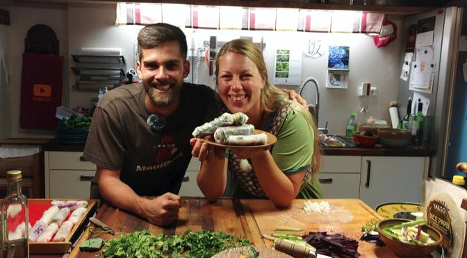 Sommerrollen – Kochshow im Rigottiland mit Max