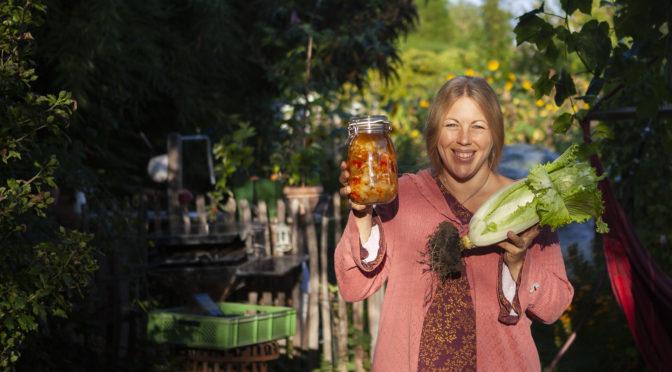Kimchi, Gemüse fermentieren