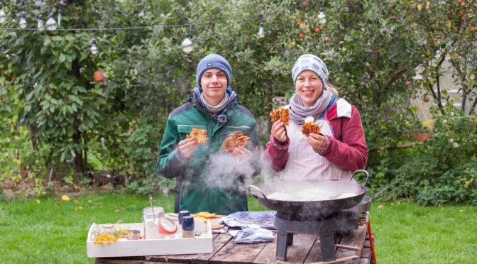 Kartoffelrösti mit Nils, Selbstversorgerküche Oktober
