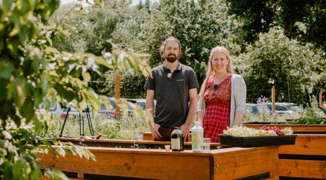Hochbeet bepflanzen für den Sommer mit EMs